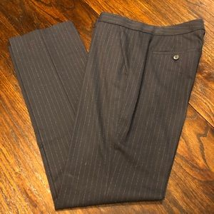 Theory Navy pinstripe pants Size 10